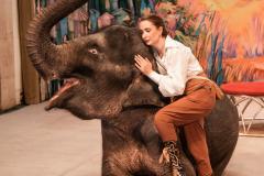 Наталья Дурова  и её слоники